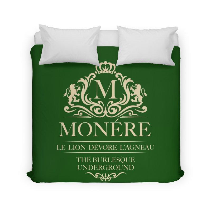 Monére (The Lion Devours the Lamb) Home Duvet by Wonderground