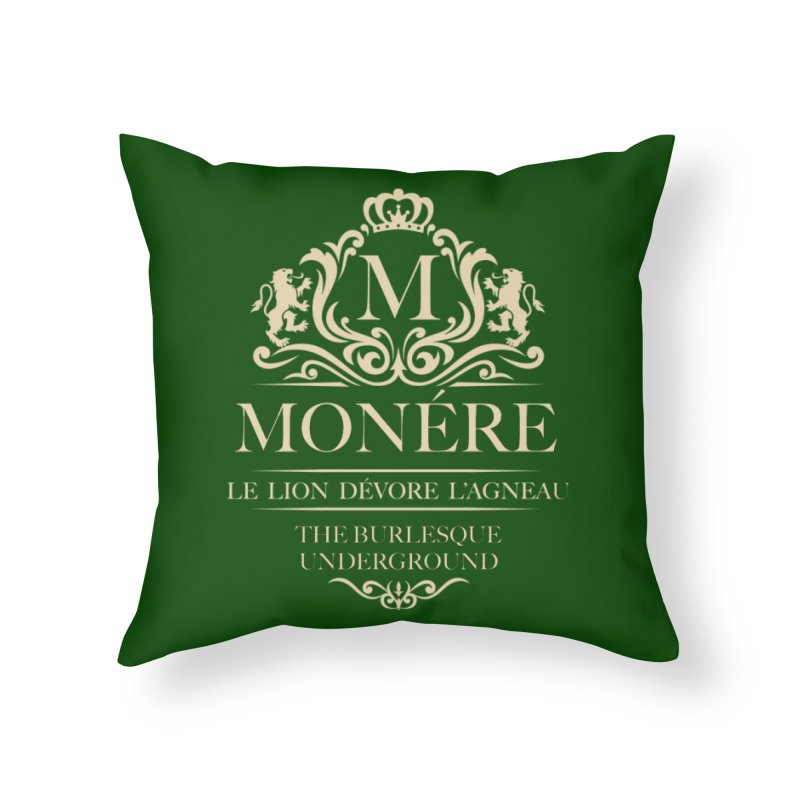Monére (The Lion Devours the Lamb) Home Throw Pillow by Wonderground