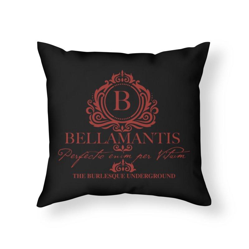 Bellamantis (Perfection Through Vice) Home Throw Pillow by Wonderground