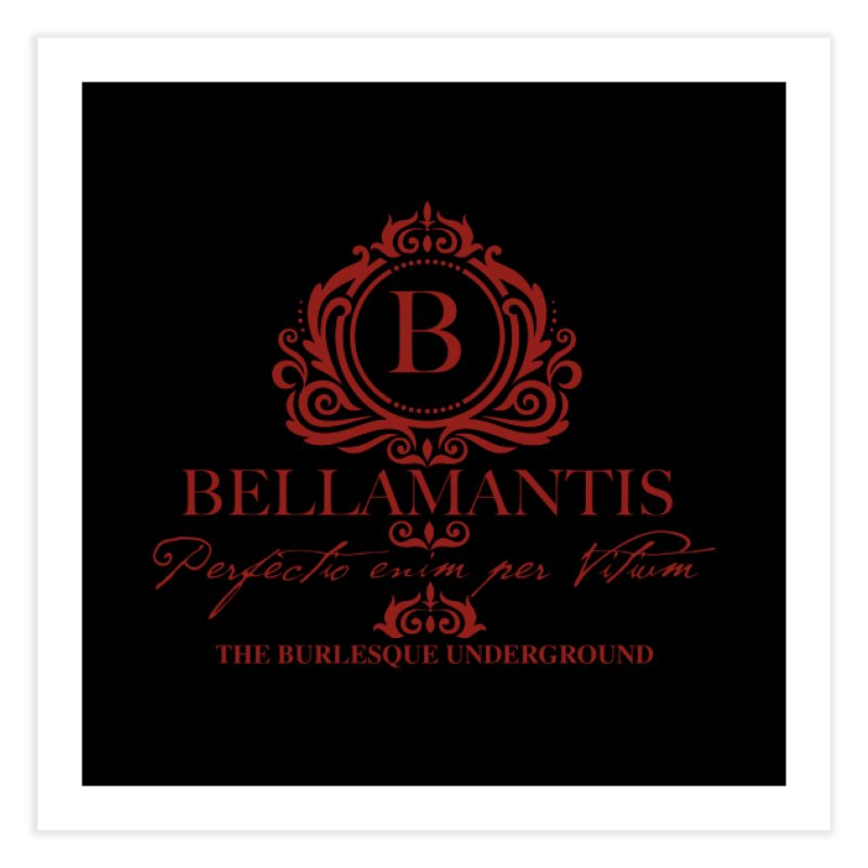 Bellamantis (Perfection Through Vice) Home Fine Art Print by Wonderground