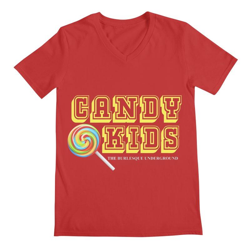 Candy Kids Men's V-Neck by Wonderground