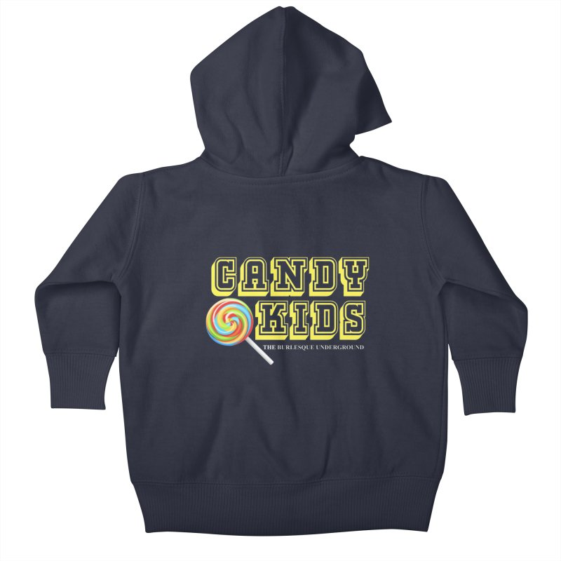 Candy Kids Kids Baby Zip-Up Hoody by Wonderground