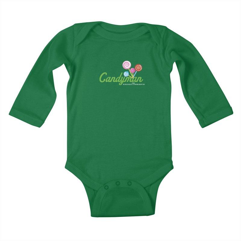 Candyman Kids Baby Longsleeve Bodysuit by Wonderground