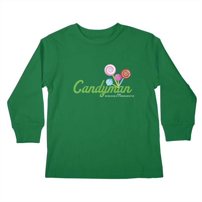 Candyman Kids Longsleeve T-Shirt by Wonderground