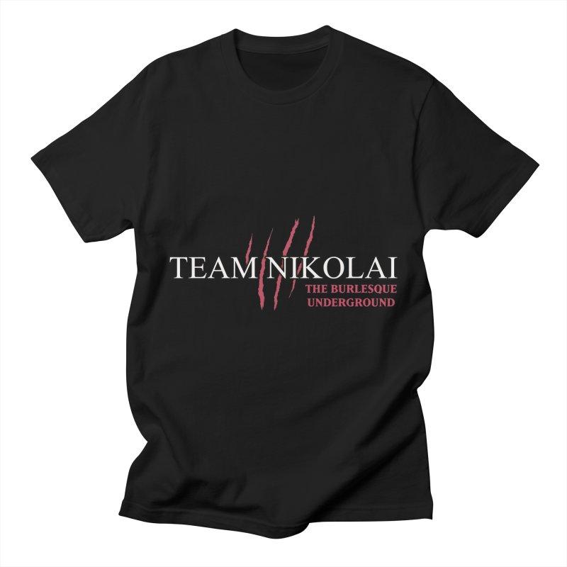 Team Nikolai Men's T-Shirt by Wonderground
