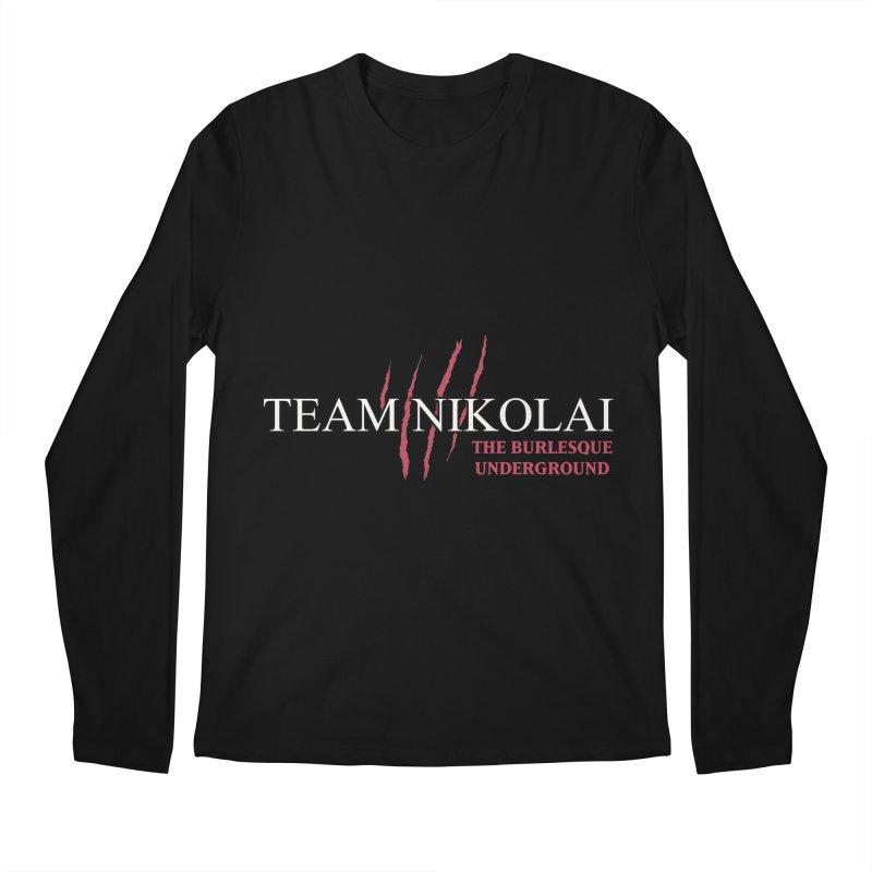 Team Nikolai Men's Longsleeve T-Shirt by Wonderground