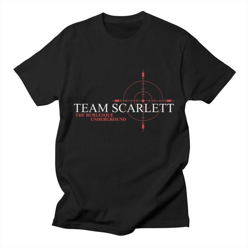 Team Scarlett Men's T-Shirt by Wonderground