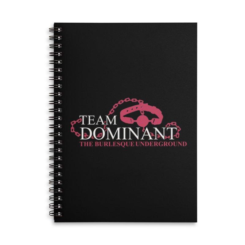 Team Dominant Accessories Notebook by Wonderground