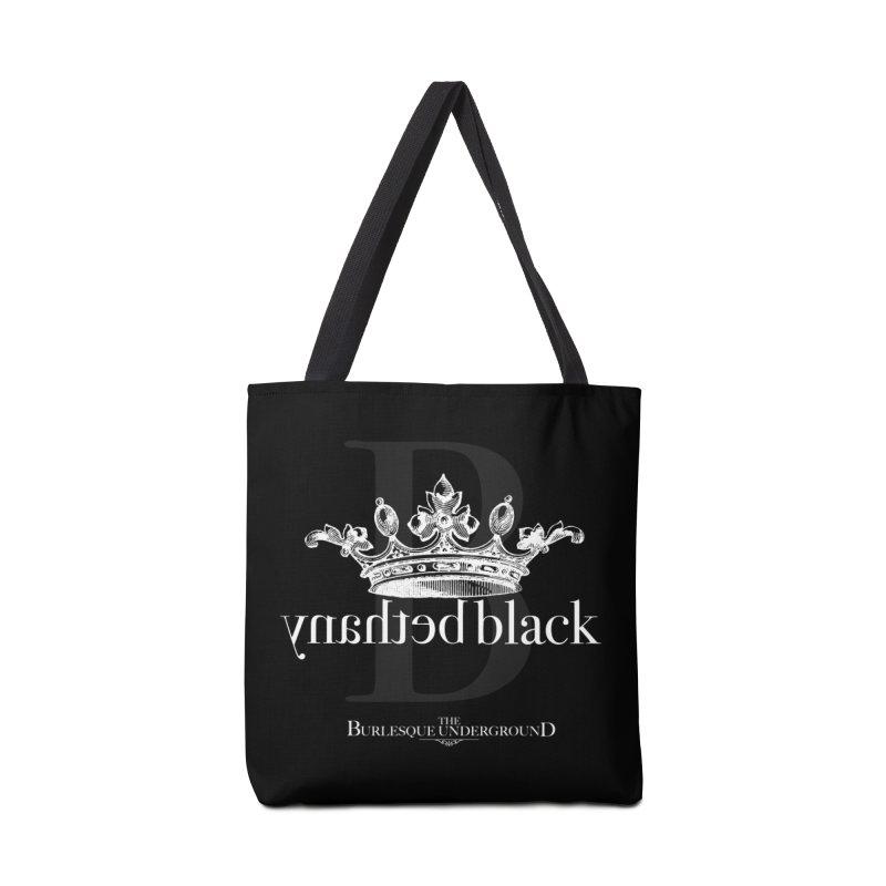 Bethany Black Accessories Bag by Wonderground