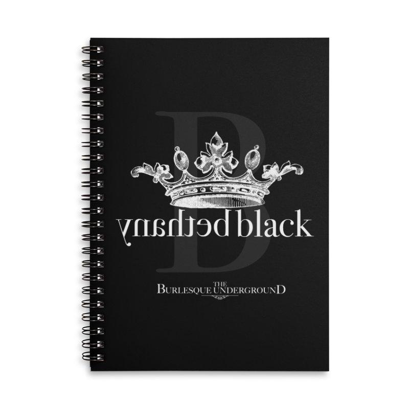 Bethany Black Accessories Notebook by Wonderground