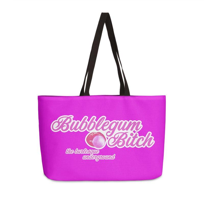 Bubblegum Bitch Accessories Bag by Wonderground