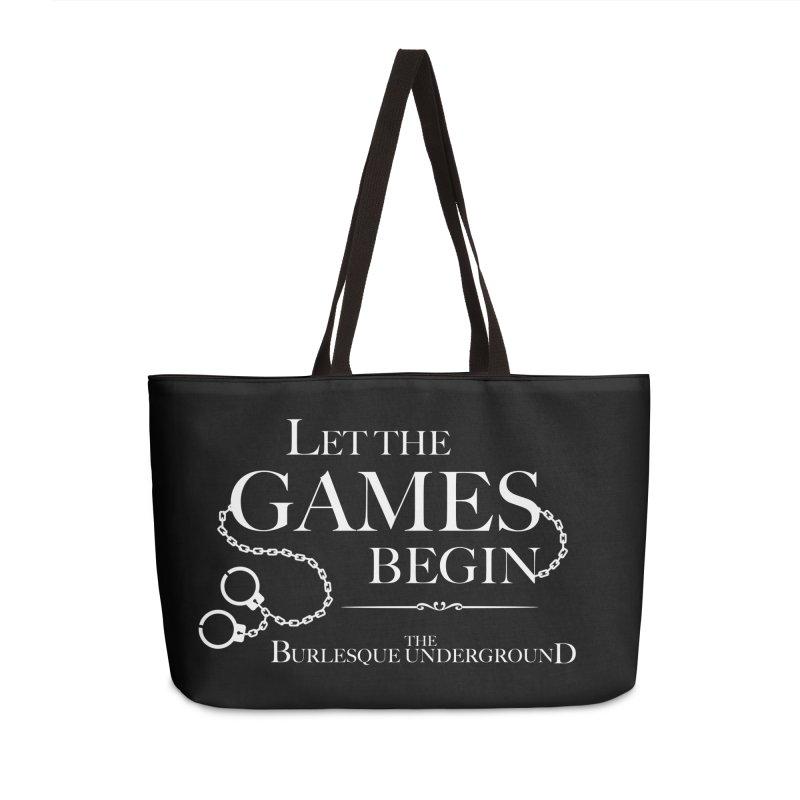 Let the Games Begin Accessories Bag by Wonderground