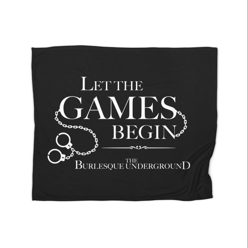 Let the Games Begin Home Blanket by Wonderground