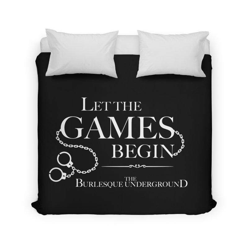 Let the Games Begin Home Duvet by Wonderground