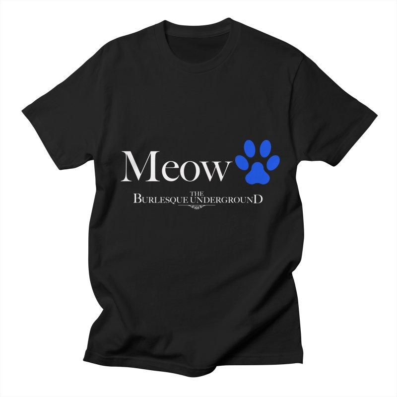 Meow. Men's T-Shirt by Wonderground