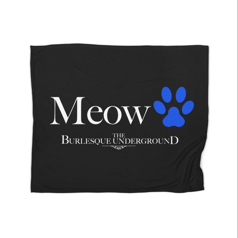 Meow. Home Blanket by Wonderground