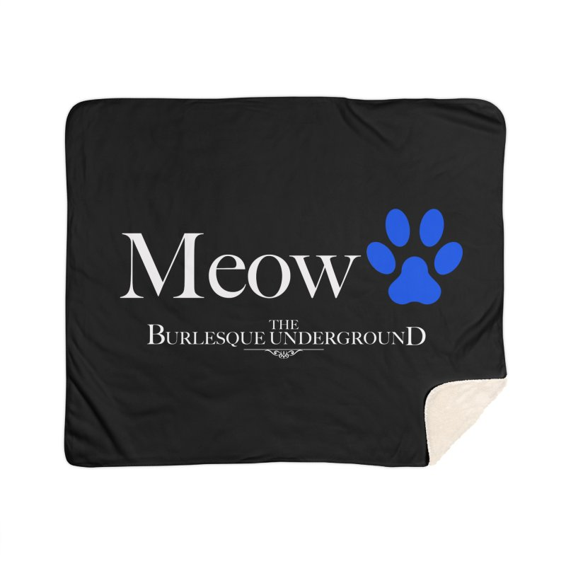 Meow. Home Blanket by Wonderground