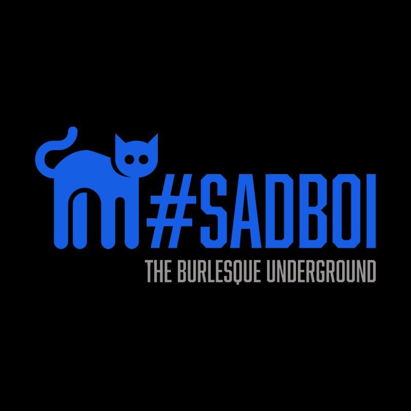 #Sadboi Men's Zip-Up Hoody by Wonderground