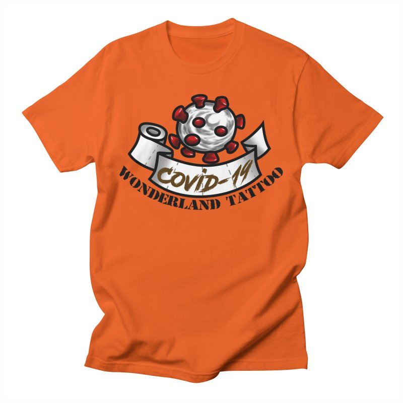 COVID-19 Men's T-Shirt by Wonderland Tattoo Studio's Artist Shop