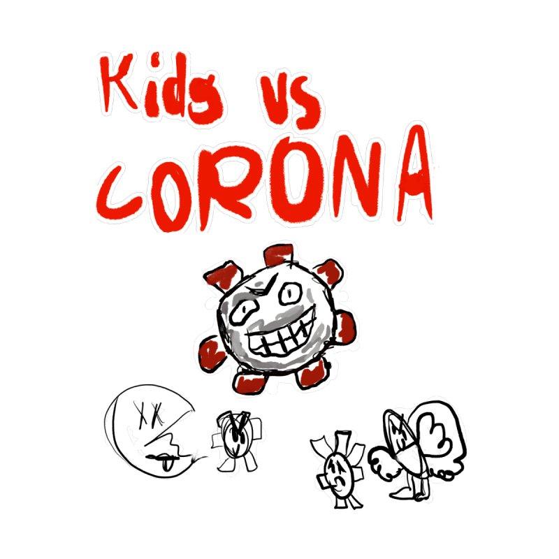 kids vs, Corona Accessories Mug by Wonderland Tattoo Studio's Artist Shop