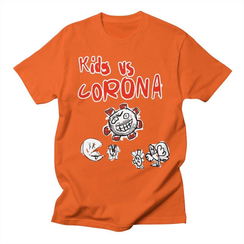 kids vs, Corona Men's T-Shirt by Wonderland Tattoo Studio's Artist Shop