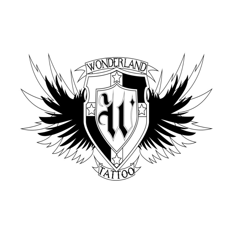 Winged Shield by Wonderland Tattoo Studio's Artist Shop