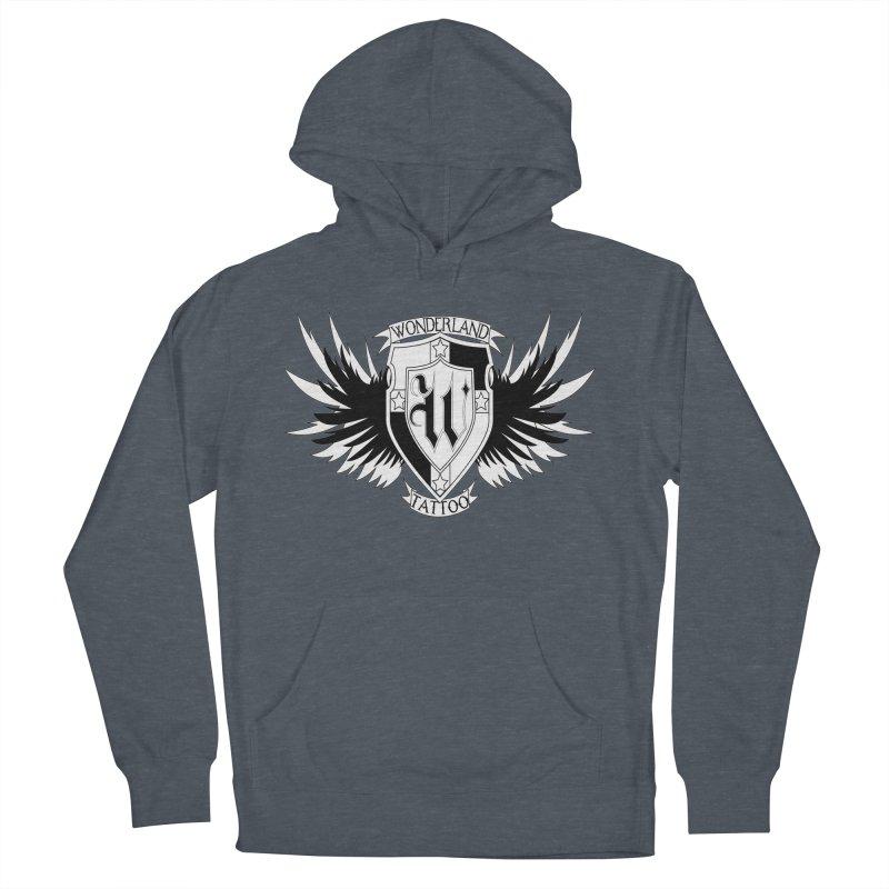 Winged Shield Men's Pullover Hoody by Wonderland Tattoo Studio's Artist Shop