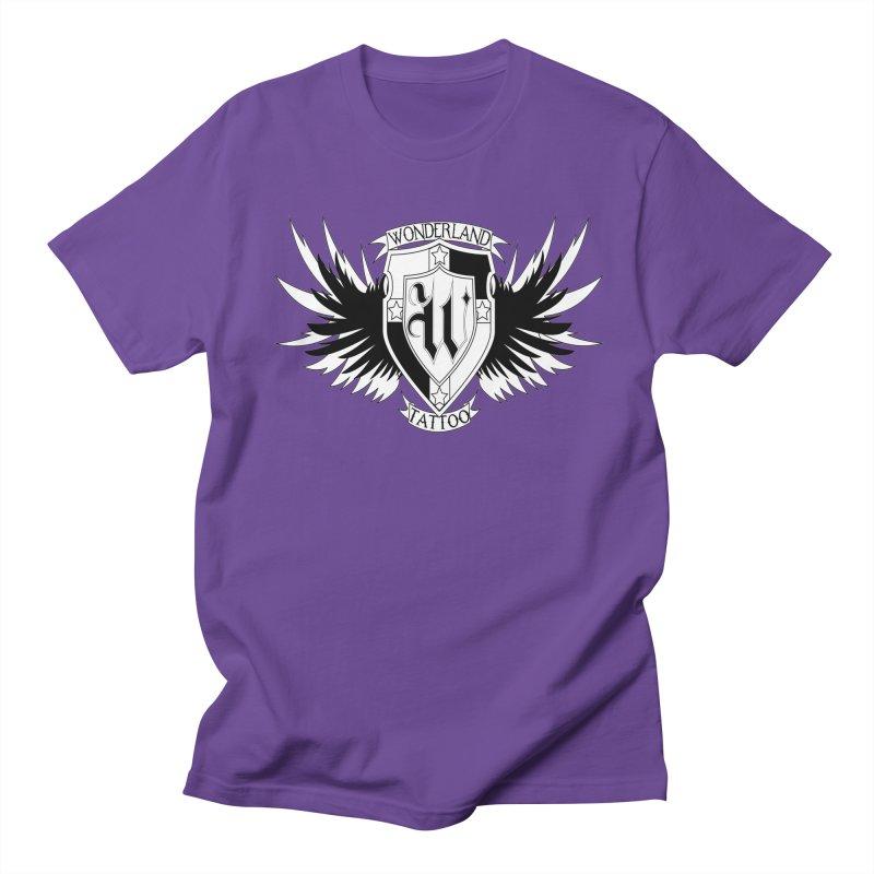 Winged Shield Women's Regular Unisex T-Shirt by Wonderland Tattoo Studio's Artist Shop