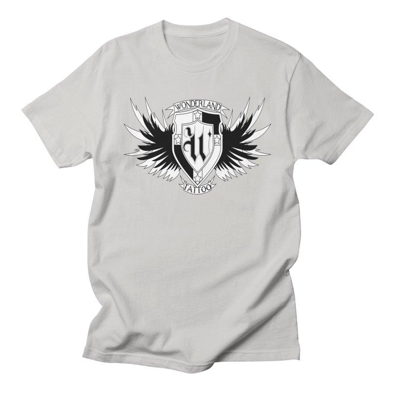 Winged Shield Women's Unisex T-Shirt by Wonderland Tattoo Studio's Artist Shop