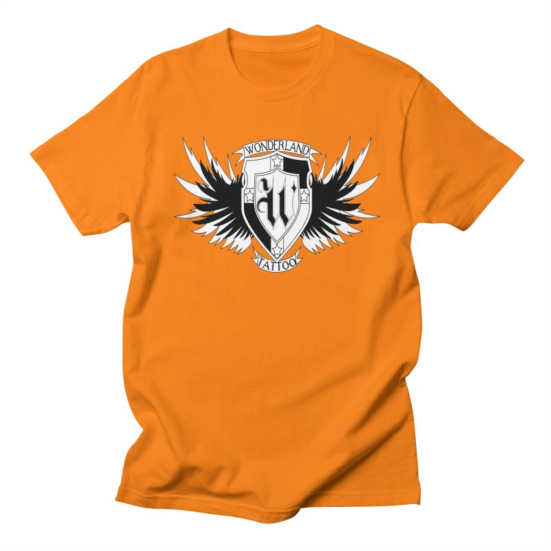 Winged Shield Women's Regular Unisex T-Shirt by Wonderland Tattoo Studio's Artist Shop