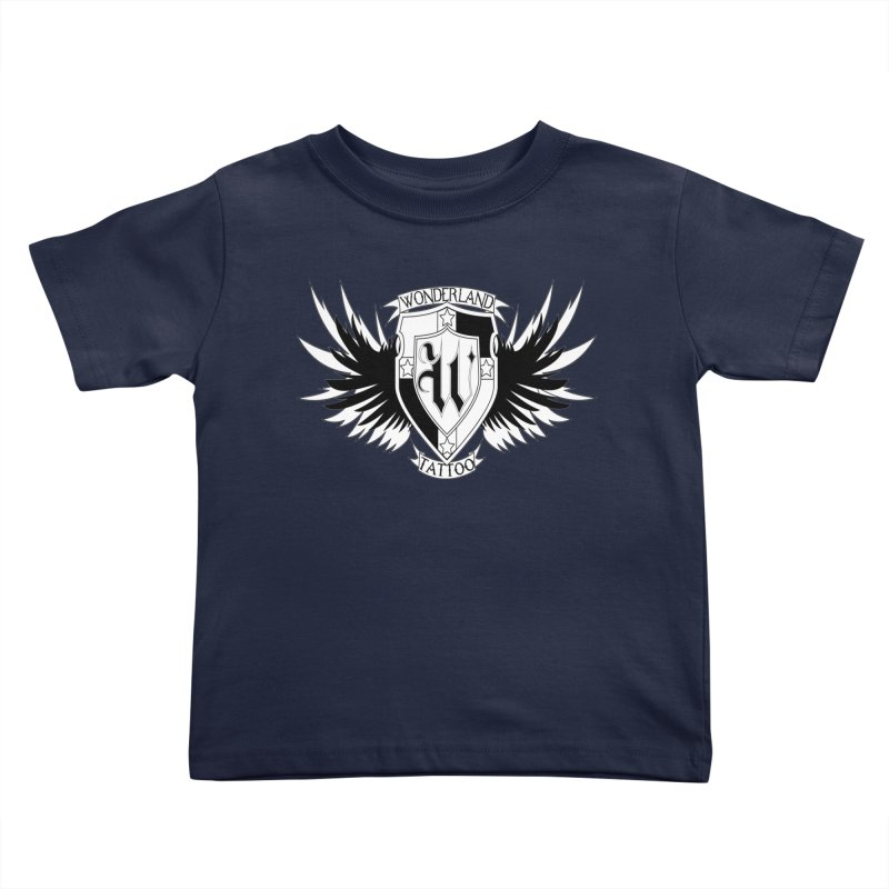 Winged Shield Kids Toddler T-Shirt by Wonderland Tattoo Studio's Artist Shop