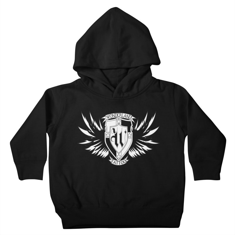 Winged Shield Kids Toddler Pullover Hoody by Wonderland Tattoo Studio's Artist Shop