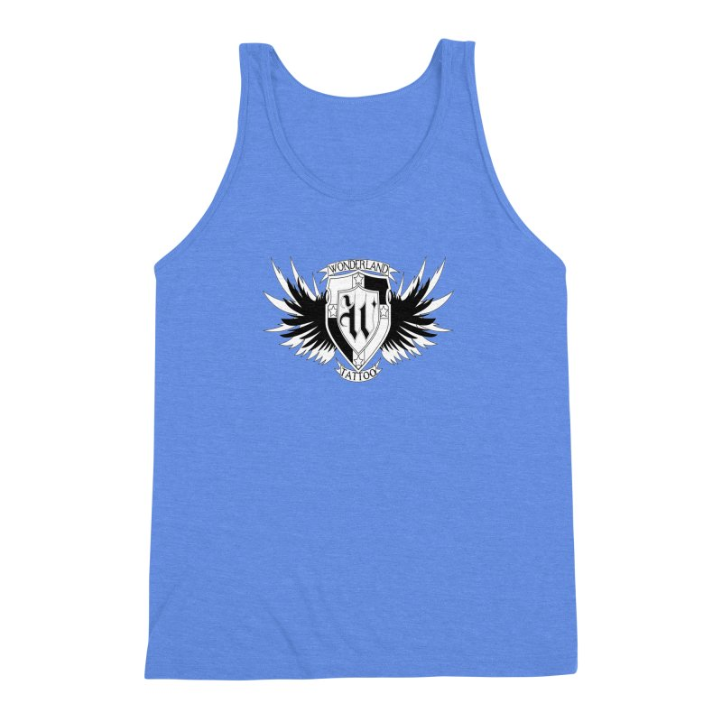 Winged Shield Men's Triblend Tank by Wonderland Tattoo Studio's Artist Shop