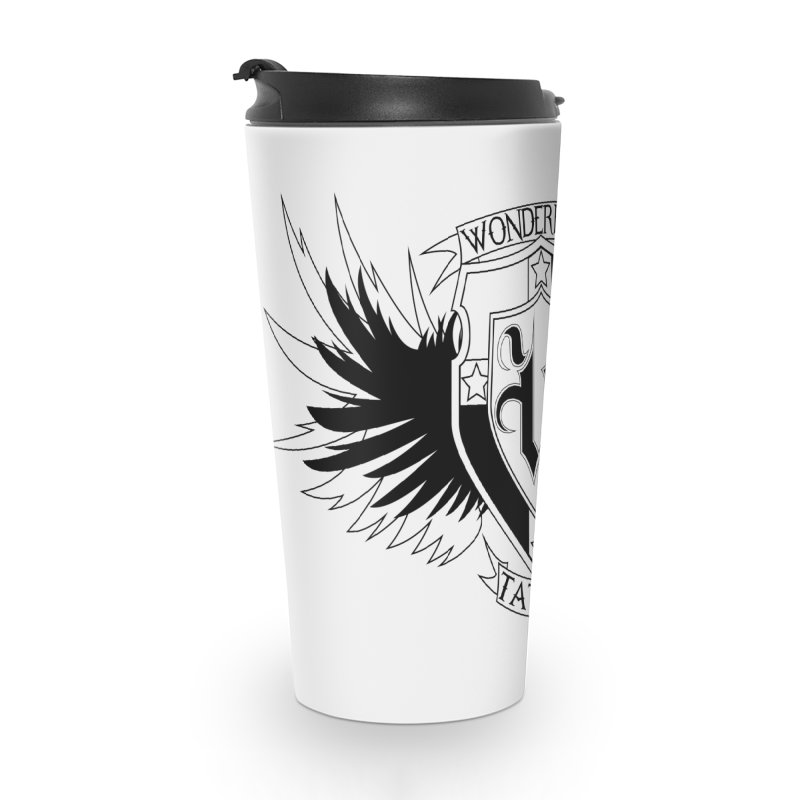 Winged Shield Accessories Travel Mug by Wonderland Tattoo Studio's Artist Shop