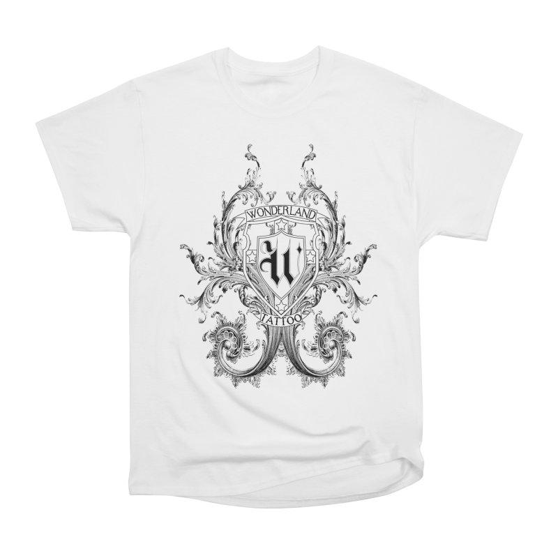 filigree shirt Men's T-Shirt by Wonderland Tattoo Studio's Artist Shop