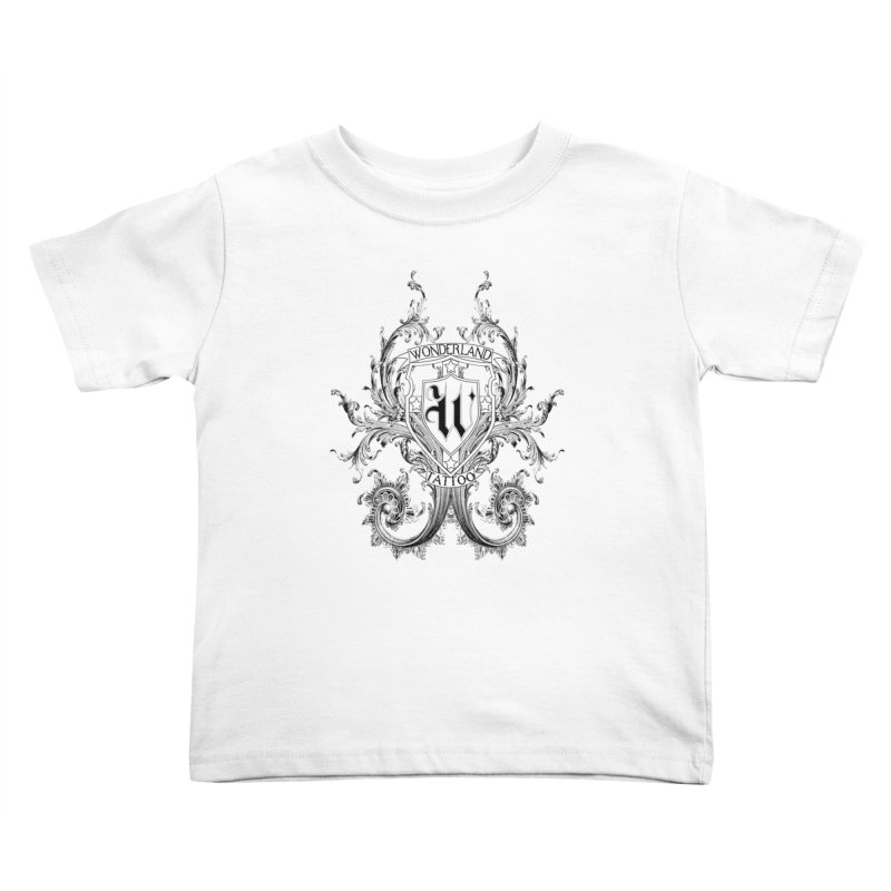 filigree shirt Kids Toddler T-Shirt by Wonderland Tattoo Studio's Artist Shop