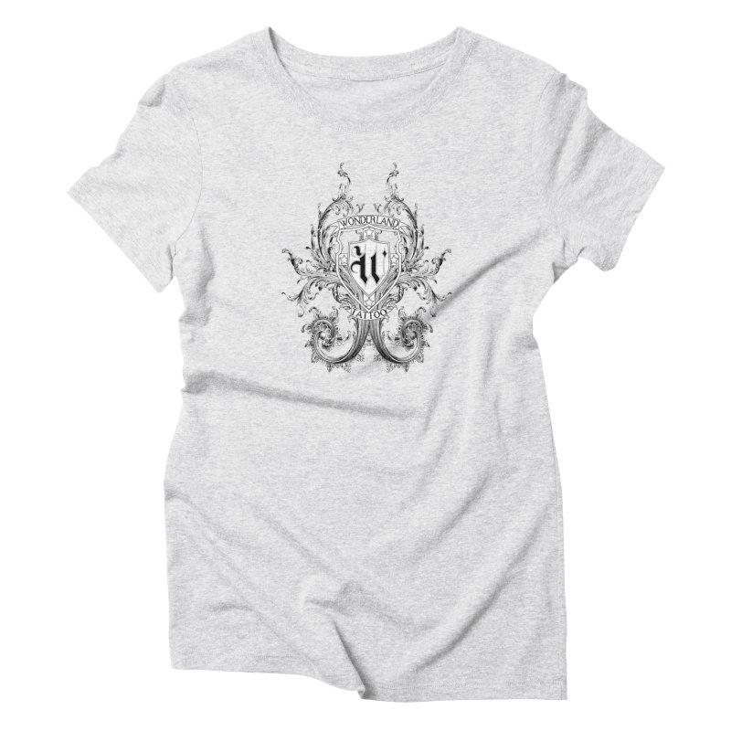 filigree shirt Women's T-Shirt by Wonderland Tattoo Studio's Artist Shop