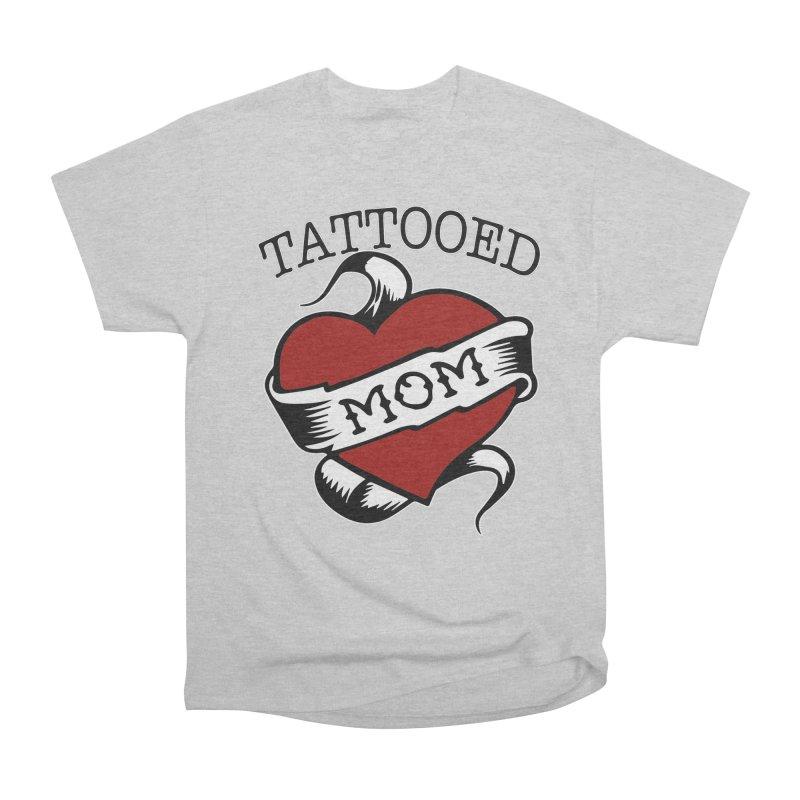 Tattooed Mom Women's Classic Unisex T-Shirt by Wonderland Tattoo Studio's Artist Shop