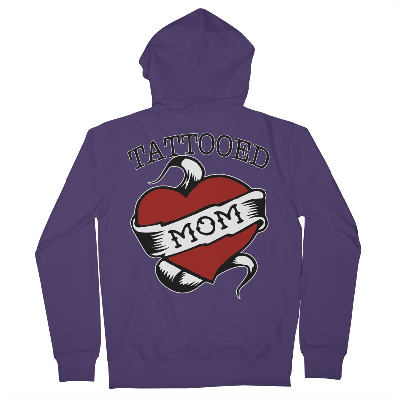 Tattooed Mom Women's Zip-Up Hoody by Wonderland Tattoo Studio's Artist Shop