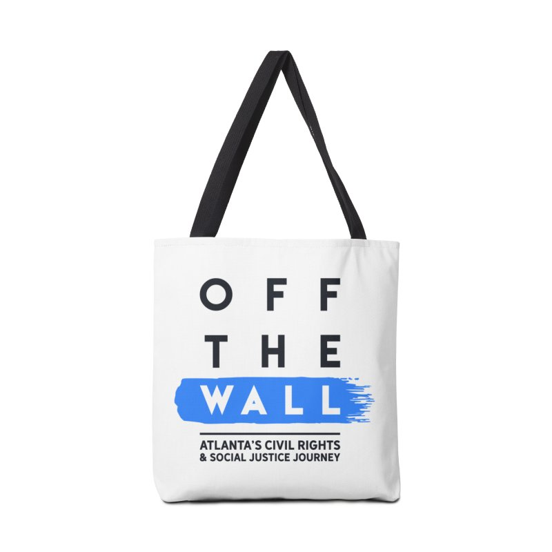 Off The Wall Logo Tote Bag in Tote Bag by WonderRoot's Artist Shop