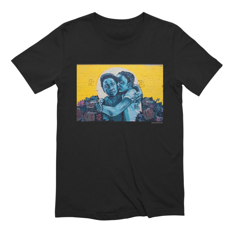 """Brandan """"Bmike"""" Odums """"Love & Protection"""" for WonderRoot's Off The Wall Men's Extra Soft T-Shirt by WonderRoot's Artist Shop"""