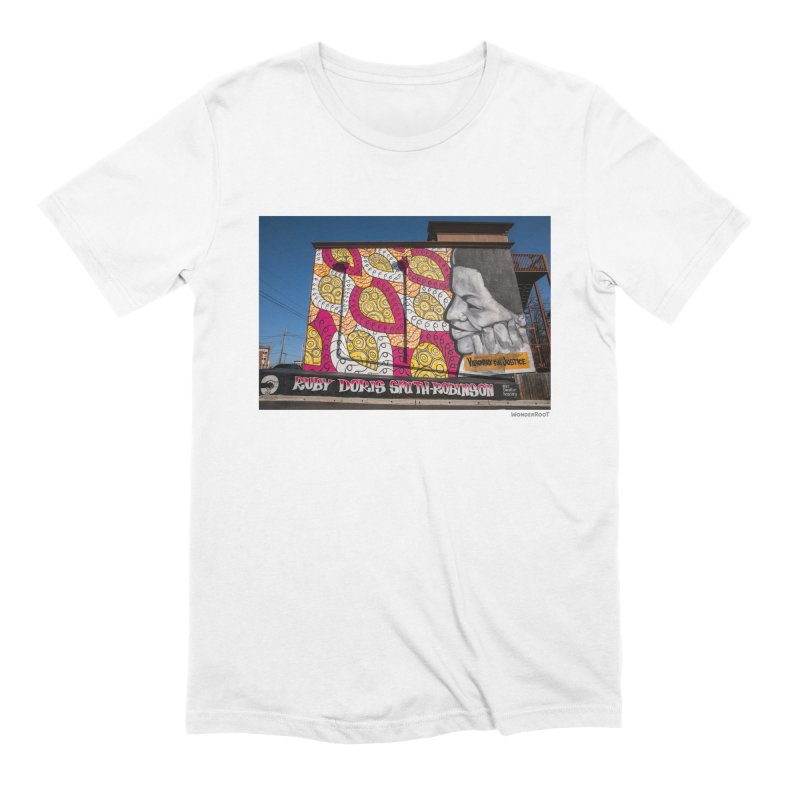 """Charmaine Minniefield """"Visionary for Justice"""" for WonderRoot's Off The Wall Men's T-Shirt by WonderRoot's Artist Shop"""