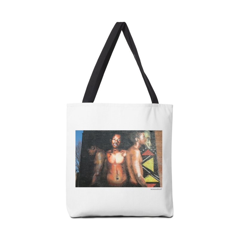 "Ernest Shaw ""Civil Rites"" for WonderRoot's Off The Wall Accessories Tote Bag Bag by WonderRoot's Artist Shop"