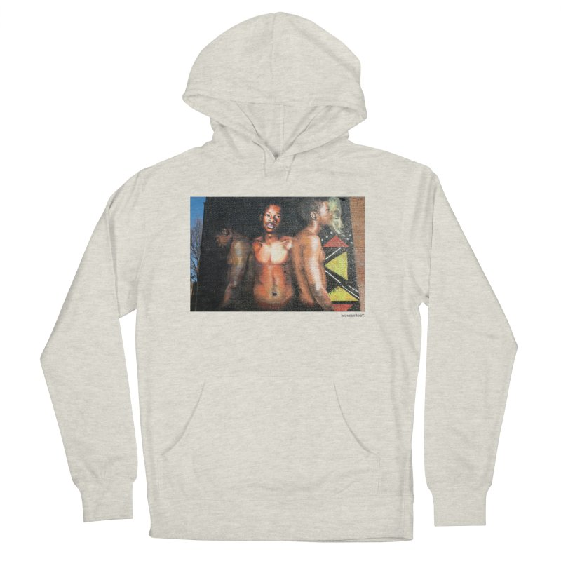 """Ernest Shaw """"Civil Rites"""" for WonderRoot's Off The Wall Women's French Terry Pullover Hoody by WonderRoot's Artist Shop"""