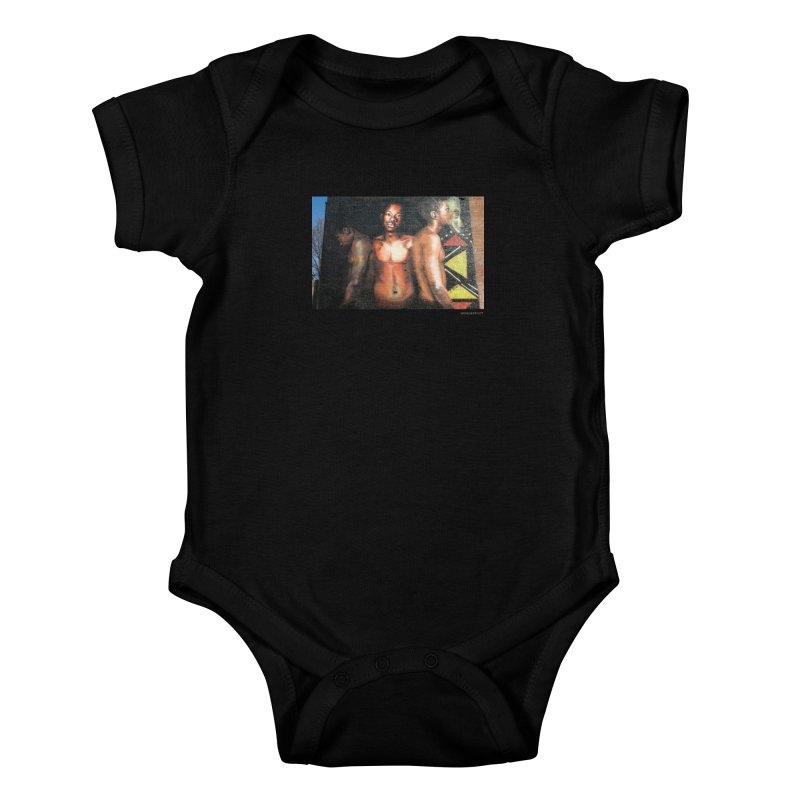 "Ernest Shaw ""Civil Rites"" for WonderRoot's Off The Wall Kids Baby Bodysuit by WonderRoot's Artist Shop"