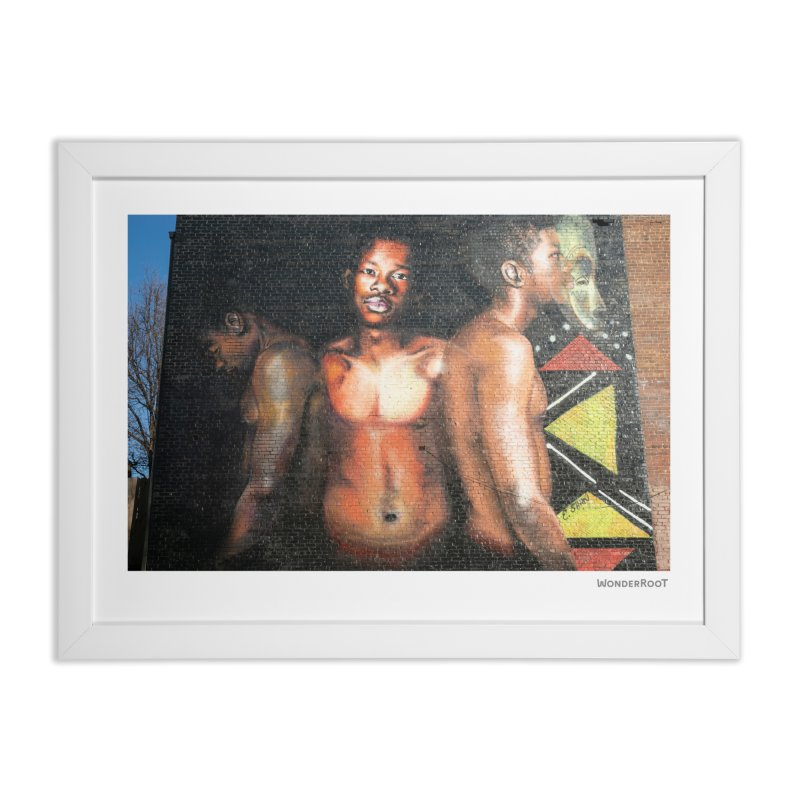 "Ernest Shaw ""Civil Rites"" for WonderRoot's Off The Wall Home Framed Fine Art Print by WonderRoot's Artist Shop"