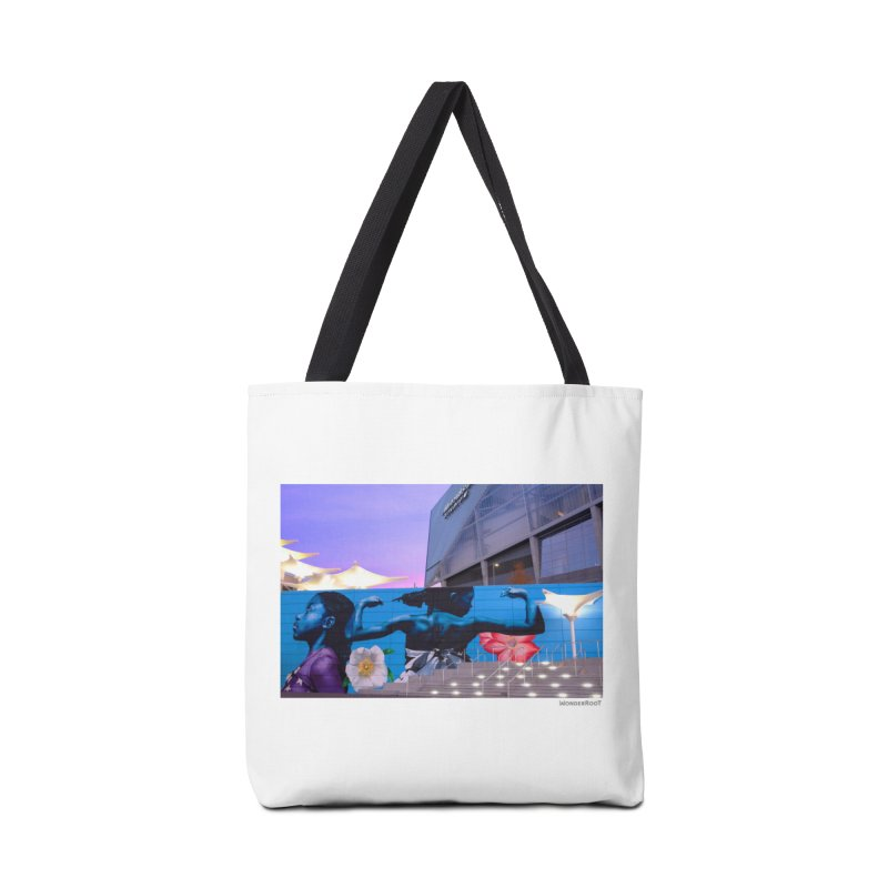 "Ernest Shaw ""Atlanta Strong"" for WonderRoot's Off The Wall Accessories Tote Bag Bag by WonderRoot's Artist Shop"