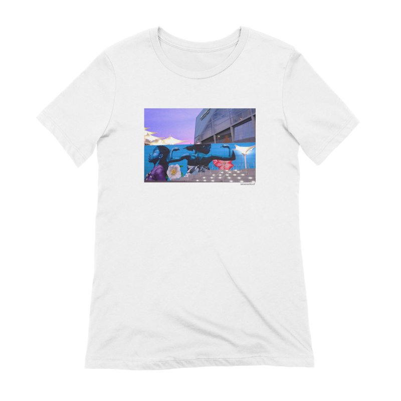 "Ernest Shaw ""Atlanta Strong"" for WonderRoot's Off The Wall Women's Extra Soft T-Shirt by WonderRoot's Artist Shop"