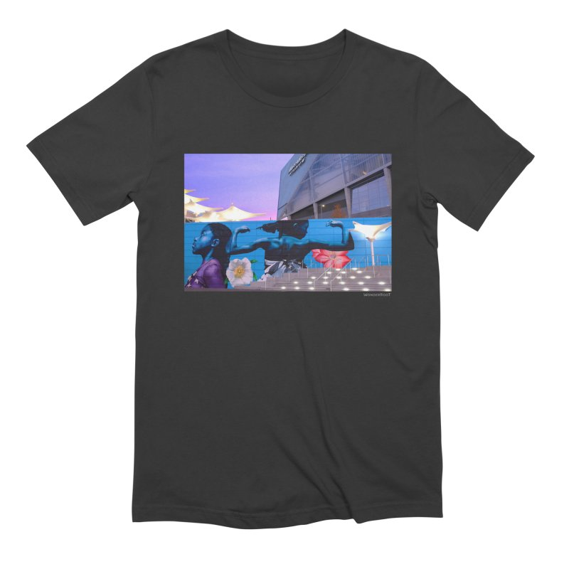 """Ernest Shaw """"Atlanta Strong"""" for WonderRoot's Off The Wall Men's Extra Soft T-Shirt by WonderRoot's Artist Shop"""