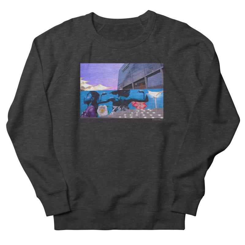 "Ernest Shaw ""Atlanta Strong"" for WonderRoot's Off The Wall Men's French Terry Sweatshirt by WonderRoot's Artist Shop"